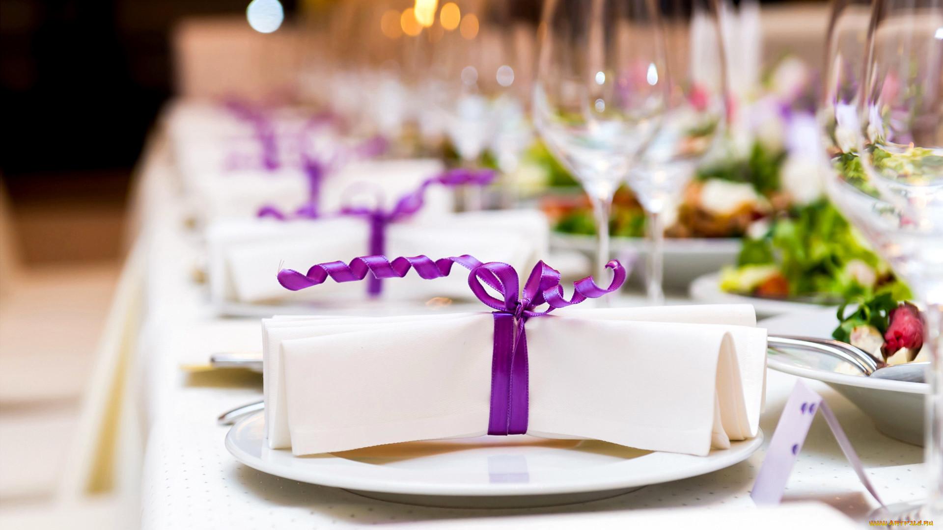 Фото банкетного стола с цветами